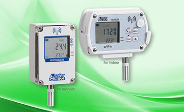 Data logger HD35 - customized data management