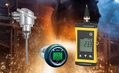 Temperature measurement technology for the process industry