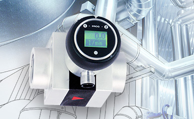 Flow meter - the supervisory authority for cooling and water circuits.