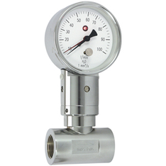 Flow measuring device - UZ