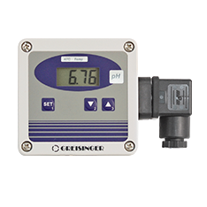 pH-transmitter with display - GPHU 014 MP