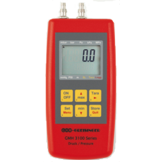 Ultra Fine Manometer with logger - GMH 3181-002