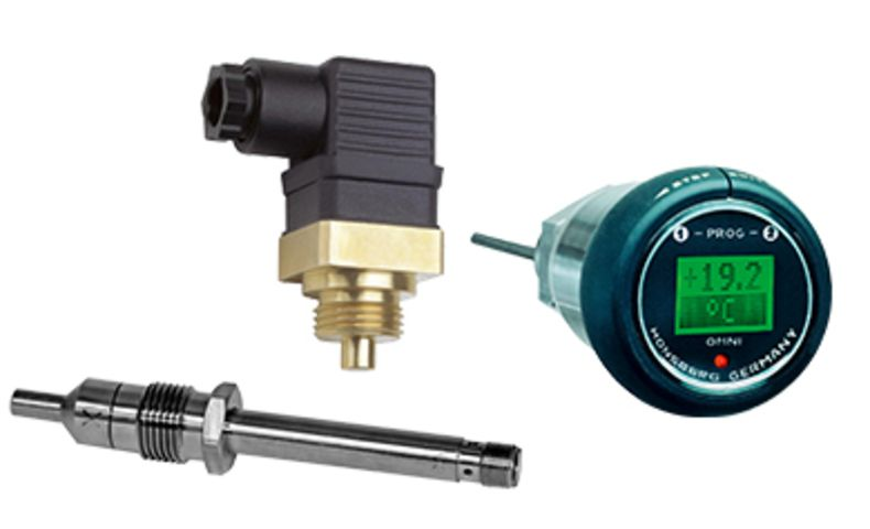 Temperature transmitters and switches