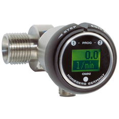 Flow transmitter with LCD - OMNI-RT