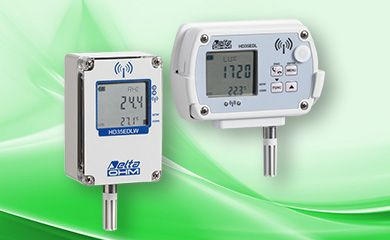 Wireless data logger system HD35