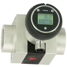 Flow transmitter with LCD - OMNI-XF