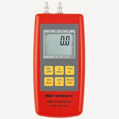 Differential pressure manometer with logger - GMH 3181-07